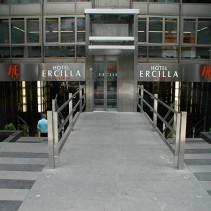 Mejoras de accesibilidad y evacuación de Hotel en Bilbao