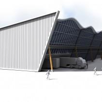 Pabellones industriales en Zierbena